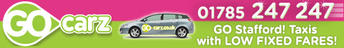 Go Carz - Fast, cheap taxis in Stafford!