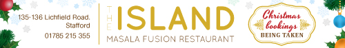 The Island, Stafford - Fusion Indian restaurant