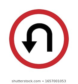no-uturn-vector-design-sign-260nw-1657001053.jpg